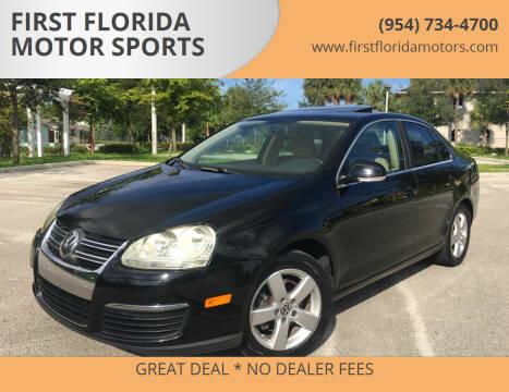 2009 Volkswagen Jetta for sale at FIRST FLORIDA MOTOR SPORTS in Pompano Beach FL
