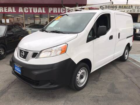 2015 Nissan NV200 for sale at Sanmiguel Motors in South Gate CA