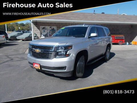 2019 Chevrolet Tahoe for sale at Firehouse Auto Sales in Springville UT
