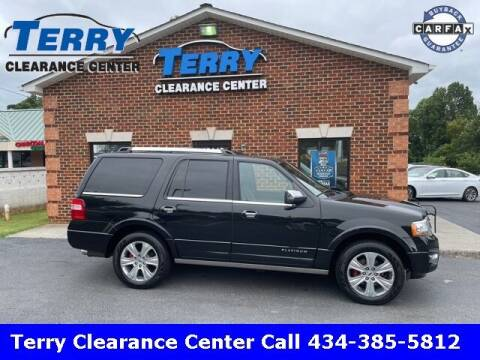 2015 Ford Expedition for sale at Terry Clearance Center in Lynchburg VA