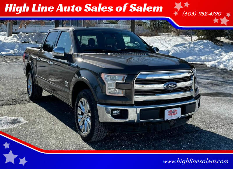 2015 Ford F-150 for sale at High Line Auto Sales of Salem in Salem NH