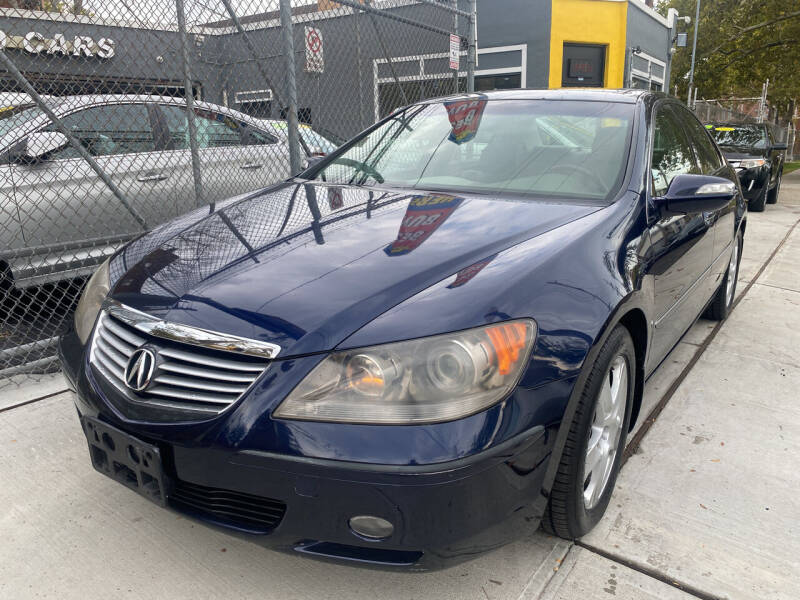 2005 Acura RL for sale at DEALS ON WHEELS in Newark NJ