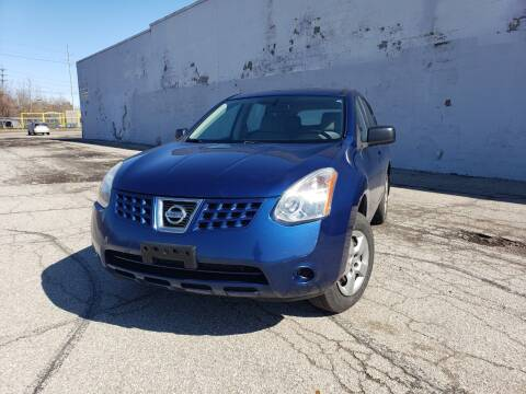 2009 Nissan Rogue for sale at CALIBER AUTO SALES LLC in Cleveland OH