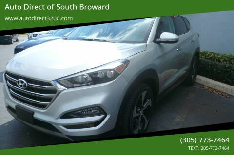 2016 Hyundai Tucson for sale at Auto Direct of South Broward in Miramar FL