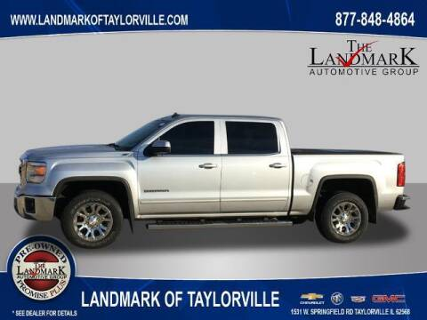 2014 GMC Sierra 1500 for sale at LANDMARK OF TAYLORVILLE in Taylorville IL