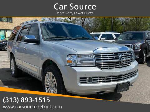 2013 Lincoln Navigator for sale at Car Source in Detroit MI