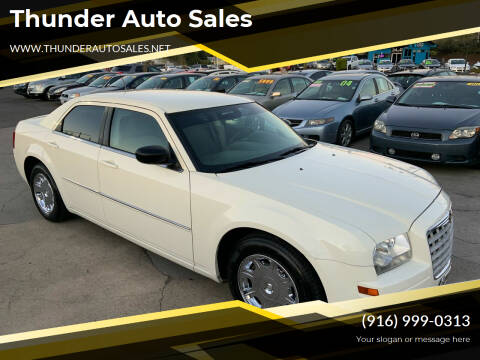 2008 Chrysler 300 for sale at Thunder Auto Sales in Sacramento CA