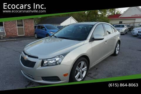 2014 Chevrolet Cruze for sale at Ecocars Inc. in Nashville TN