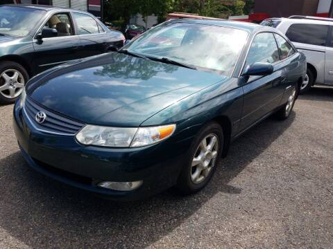 2002 Toyota Camry Solara for sale at Wildwood Motors in Gibsonia PA