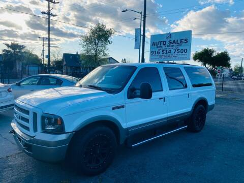 2005 Ford Excursion for sale at A1 Auto Sales in Sacramento CA