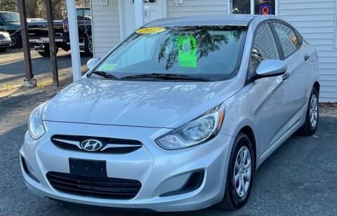 2012 Hyundai Accent for sale at Landmark Auto Sales Inc in Attleboro MA