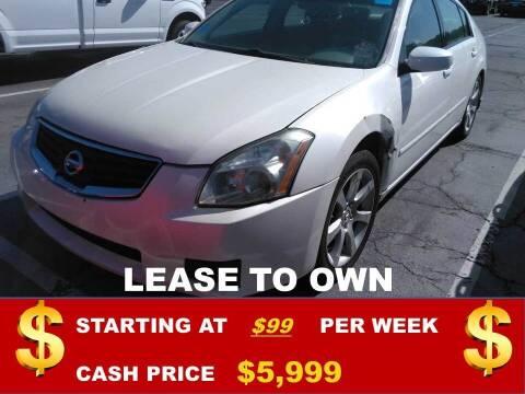 2007 Nissan Maxima for sale at Auto Mart USA in Kansas City MO