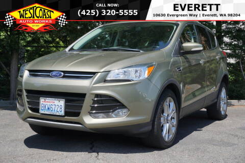 2013 Ford Escape for sale at West Coast Auto Works in Edmonds WA