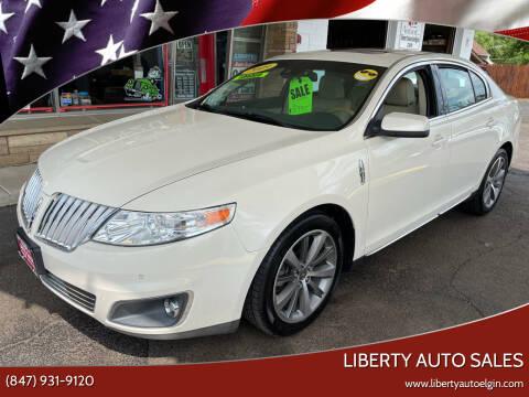 2009 Lincoln MKS for sale at Liberty Auto Sales in Elgin IL