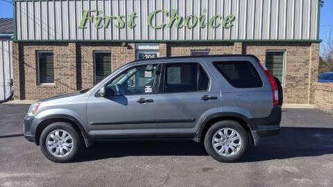 2006 Honda CR-V for sale at First Choice Auto in Greenville SC