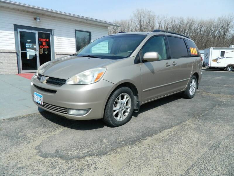 2005 Toyota Sienna for sale at Triple R Sales in Lake City MN