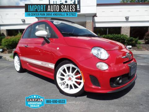 2015 FIAT 500c for sale at IMPORT AUTO SALES in Knoxville TN