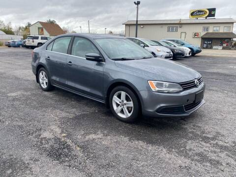 2013 Volkswagen Jetta for sale at Riverside Auto Sales & Service in Portland ME