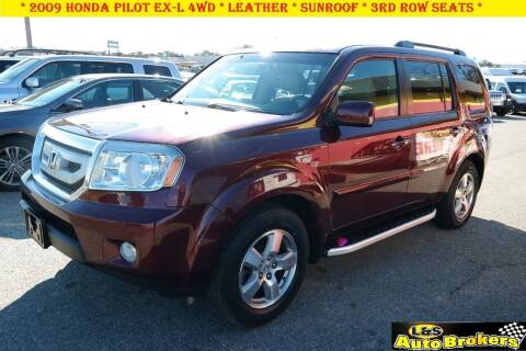 2009 Honda Pilot for sale at L & S AUTO BROKERS in Fredericksburg VA