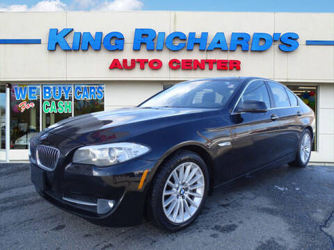 2013 BMW 5 Series for sale at KING RICHARDS AUTO CENTER in East Providence RI