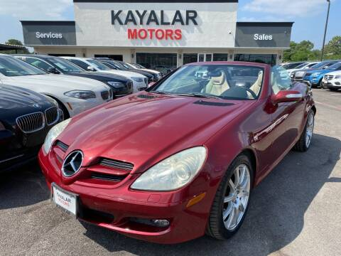 2005 Mercedes-Benz SLK for sale at KAYALAR MOTORS in Houston TX