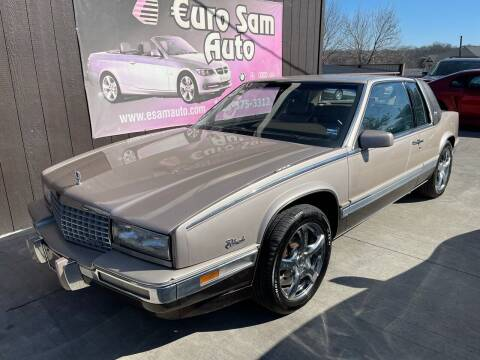 1989 Cadillac Eldorado for sale at Euro Auto in Overland Park KS