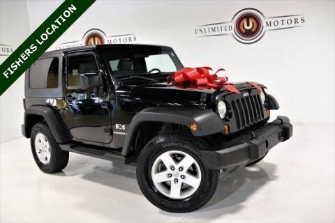2009 Jeep Wrangler for sale at Unlimited Motors in Fishers IN