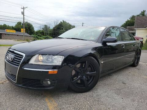 2007 Audi A8 for sale at J's Auto Exchange in Derry NH