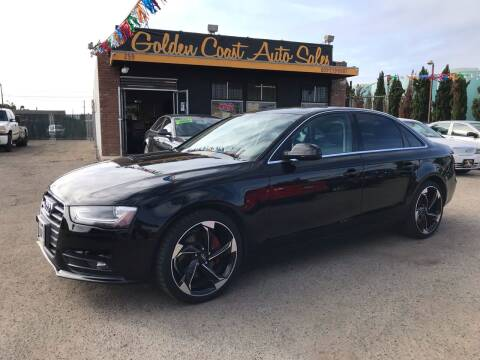 2013 Audi A4 for sale at Golden Coast Auto Sales in Guadalupe CA