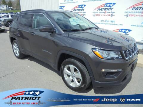 2019 Jeep Compass for sale at PATRIOT CHRYSLER DODGE JEEP RAM in Oakland MD