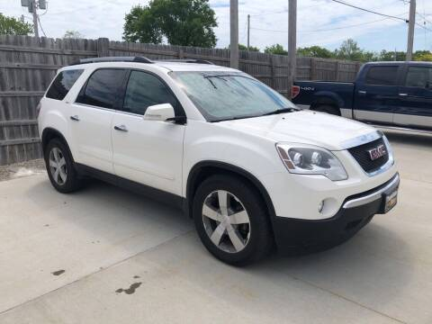 2012 GMC Acadia for sale at Tigerland Motors in Sedalia MO