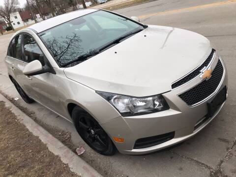2013 Chevrolet Cruze for sale at Square Business Automotive in Milwaukee WI