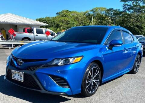 2019 Toyota Camry for sale at PONO'S USED CARS in Hilo HI