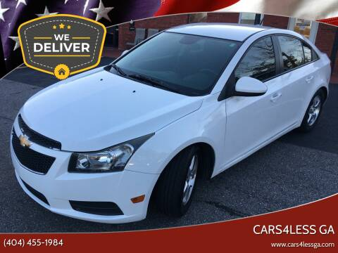 2014 Chevrolet Cruze for sale at Cars4Less GA in Alpharetta GA