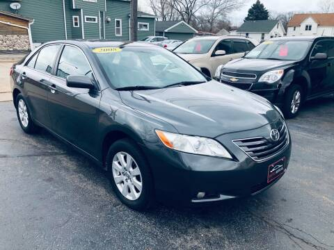 2008 Toyota Camry for sale at SHEFFIELD MOTORS INC in Kenosha WI