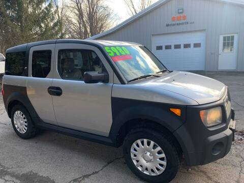 2007 Honda Element for sale at SMS Motorsports LLC in Cortland NY