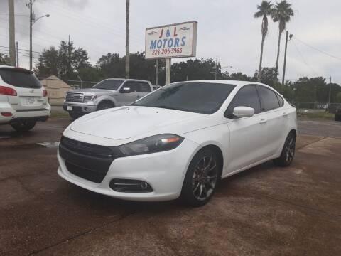 2013 Dodge Dart for sale at J & L Motors in Pascagoula MS