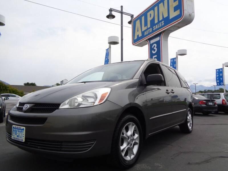 2005 Toyota Sienna for sale at Alpine Auto Sales in Salt Lake City UT