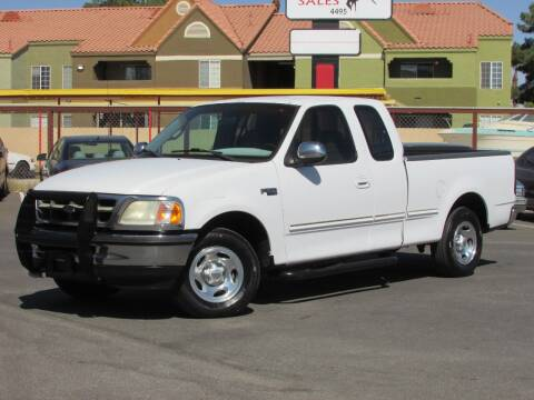 1997 Ford F-150 for sale at Best Auto Buy in Las Vegas NV
