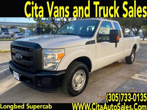 2012 Ford F-250 Super Duty for sale at Cita Auto Sales in Medley FL