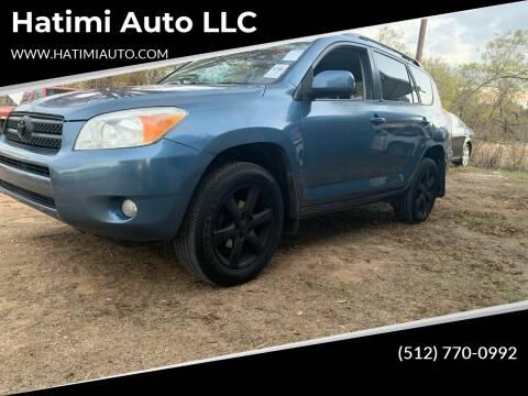 2007 Toyota RAV4 for sale at Hatimi Auto LLC in Buda TX