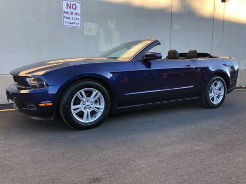 2012 Ford Mustang for sale at International Auto Sales in Hasbrouck Heights NJ