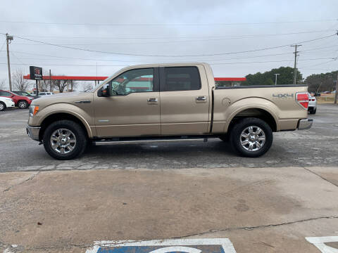2012 Ford F-150 for sale at Smooth Solutions 2 LLC in Springdale AR