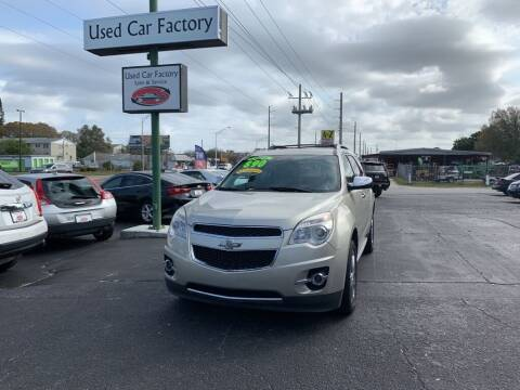 2014 Chevrolet Equinox for sale at Used Car Factory Sales & Service in Bradenton FL