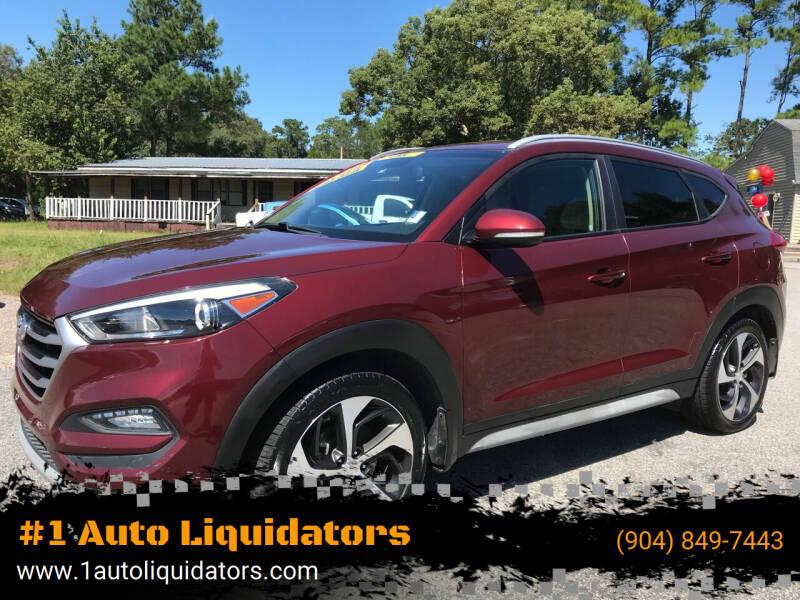 2017 Hyundai Tucson for sale at #1 Auto Liquidators in Yulee FL