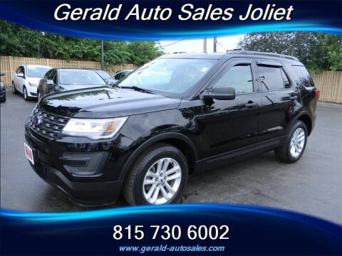 2017 Ford Explorer for sale at Gerald Auto Sales in Joliet IL