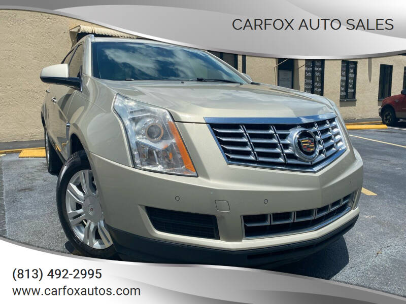 2016 Cadillac SRX for sale at Carfox Auto Sales in Tampa FL