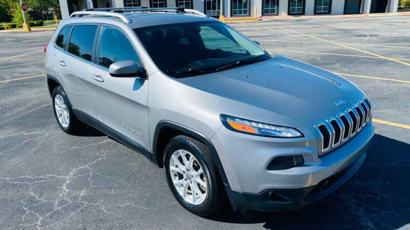 2016 Jeep Cherokee for sale at H & B Auto in Fayetteville AR