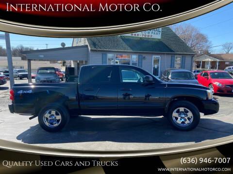 2005 Dodge Dakota for sale at International Motor Co. in St. Charles MO