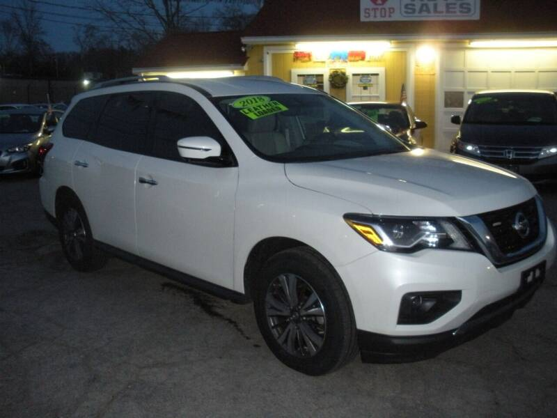 2018 Nissan Pathfinder for sale at One Stop Auto Sales in North Attleboro MA